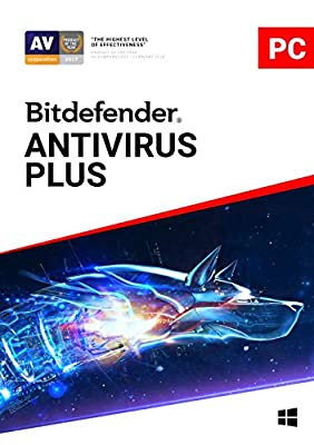 Bitdefender Antivirus Plus - 3 Devices | 2 year Subscription | PC Activation Code by email