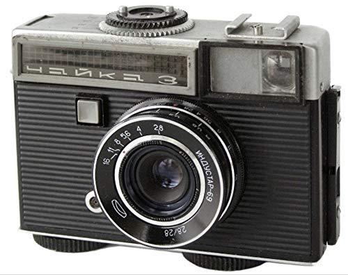 CHAJKA CHAIKA-3 セミサイズ18x24 72フレームソビエトフィルムカメラ