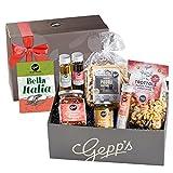 Gepp's Feinkost Bella Italia Geschenkbox I Geschenkkorb für Männer und Frauen I Feinste italienische Delikatessen, hergestellt nach eigener Rezeptur I Geschenk zum Geburtstag, zur...