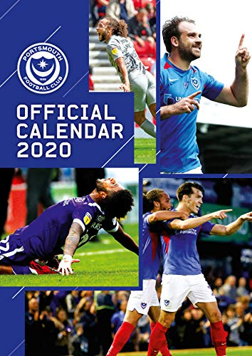 Portsmouth FC 2020 Calendar - Official A3 Month to View Wall Calendar