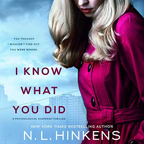 I Know What You Did audiobook cover art