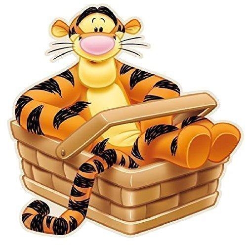 Disney Winnie the Pooh Tigger förmiger Läufer Teppich Schlafzimmer Kinder Kinder Boden Matte