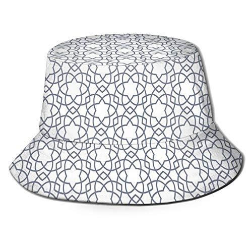 FULIYA Sombrero de poliéster Artsy Grunge astronauta y planeta tierra con acuarela digital geométrica, gorra para mujeres, hombres, adolescentes