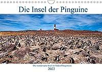 Die Insel der Pinguine - Die wundersame Insel im Sueden Patagoniens (Wandkalender 2022 DIN A4 quer): Eine Insel, die Tausende Pinguine beherbergt. (Monatskalender, 14 Seiten )