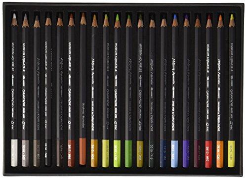 カランダッシュ色鉛筆水溶性ミュージアムアクアレル20色セット3510-420ランドスケープ紙箱正規輸入品