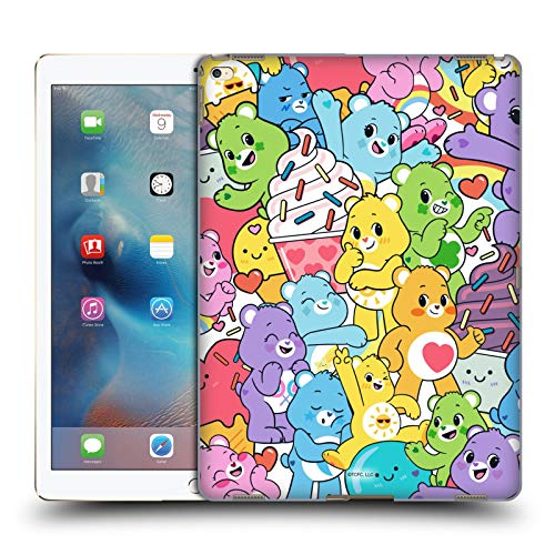 Official Care Bears Character Pattern Sweet And Savory Hard Back Case Compatible for Apple iPad Pro 12.9 (2015)