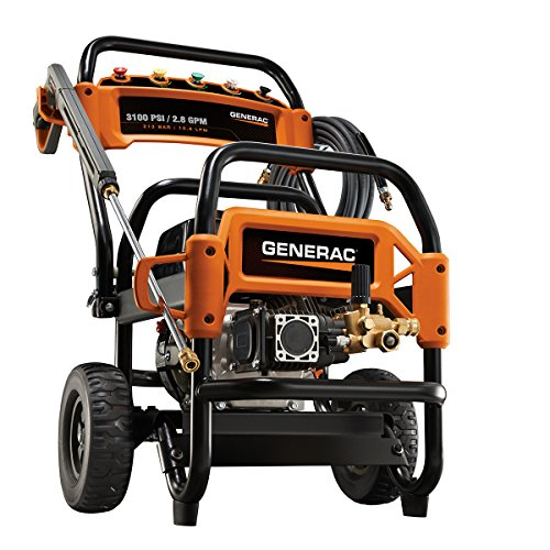 Generac 6590 3,100 PSI, 2.8 GPM, Gas Powered Commercial Pressure Washer (Discontinued by Manufacturer)