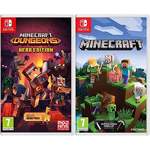 Minecraft Dungeons + Minecraft - Nintendo Switch