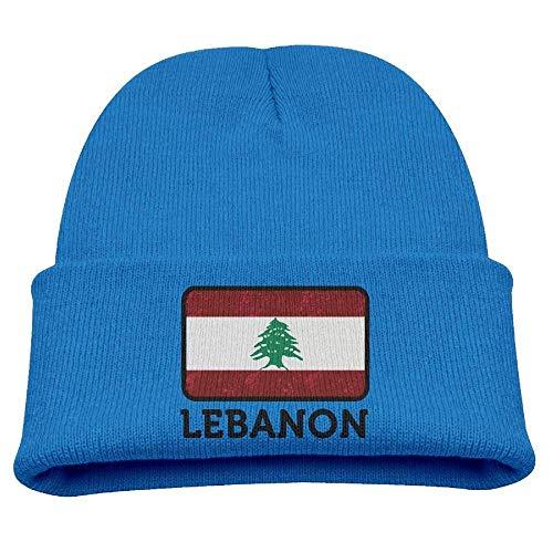 CHKWYN Kid's Lebanon Skull Cap Beanie Soft Winter Knitted Hat
