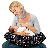 Kradyl Kroft Baby's 5-in-1 Feeding Pillow with Detachable Cover (Color-Multicolor, Columbus 2.0)