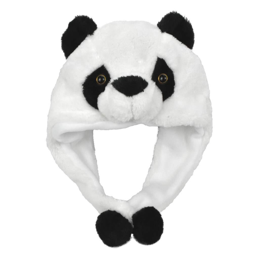 Lacheln Party Animal Hats for Kids Women Men Adults Costume Plush Fur Headwear Christams Xmas Gift