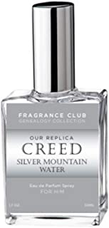Replica of Creed Silver Mountain Water, On Sale Now for $24.95 for a 1.7 oz. Cologne Spray, Try it Today, Made in the USA