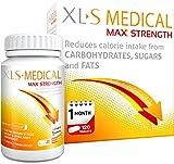 XLS Medical Max Fuerza Pastillas Para Adelgazar para perder peso -...