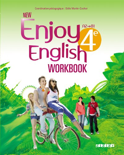 NEW ENJOY ENGLISH 4ème - Cahier d'activités