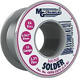 MG Chemicals 60/40 Rosin Core Leaded Solder, 0.062' Diameter, 1/2 lbs Spool