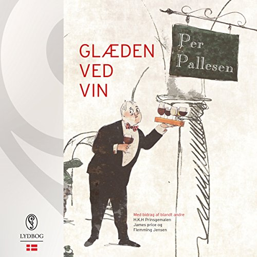 Glæden ved vin (Danish Edition) audiobook cover art