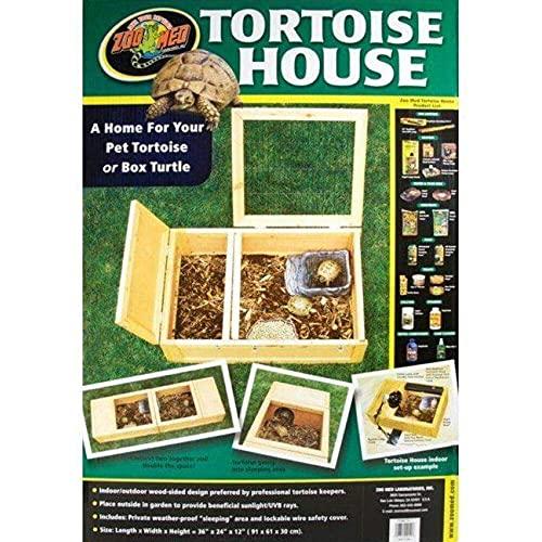 Zoomed Tortoise House