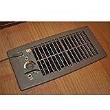 Suncourt Flush Fit Register Air Booster Fan - HC500-B - Brown
