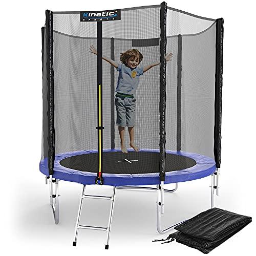 Kinetic Sports Outdoor Gartentrampolin Ø 183 cm,...
