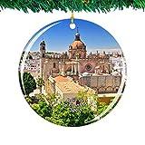 Kysd43Mill - Adornos de cerámica para árbol de Navidad, diseño de Jerez de la Frontera