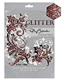 DB Brooks Collection (Rose Gold Metallic) Glitter Grout/Caulking Additive Hybrid Crystals. 150g/5.2oz fine Blended Glitter for Tiles Bathroom Powder Room Kitchen - resealable Bag.