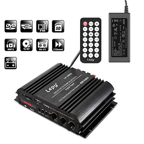 NKTECH 5A Power Supply Lepy LP-269S USB SD DVD CD FM MP3...