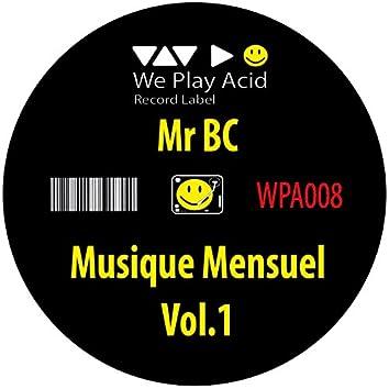Musique Mensuel, Vol. 1