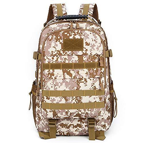 Xme 36-55L (34 * 19 * 48) Sac à Dos de Camouflage extérieur, Sac à Dos en Nylon étanche, Sac à Dos Tactique de Sport Multifonctionnel