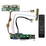 TV HDMI VGA AV USB RF LCD-Controller-Platine für 20,1'' M201EW02 22' M220EW01 LTM220M1 LTM220M2 1680x1050 4CCFL 30Pins LCD-Panel (MEHRWEG)