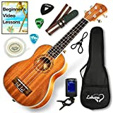Ukulele Soprano Size Bundle From Lohanu (LU-S) 2 Strap Pins Installed FREE Uke