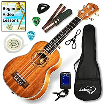 Ukulele Soprano Size Bundle From Lohanu (LU-S) review