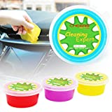 CHEERS DEVICES 4-Pack Car Cleaning Gel Detailing Putty for Key Pad Computer Vacuum Cleaner...