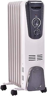 1500 W Lleno de aceite radiador eléctrico calentador de espacio interior Inicio Calentadores Eléctricos Wihth Cuatro ruedas