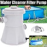 Filter Pump Pool Cleaner 220v Filter Pump Circulation Pump Fit for Ground Pools
