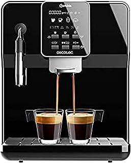 Cecotec Machine à café megatomatique PowerMatic-ccino 6000 Serie Nera, 19 Bars, 1-2 cafés, Système de réchauffage rapide, ...