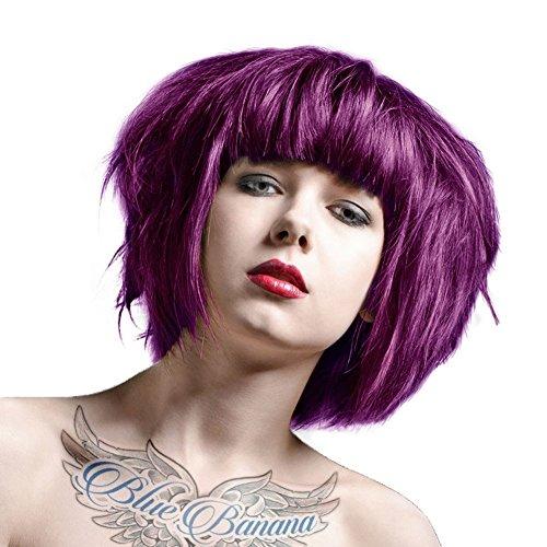 DIRECTIONS Plum Semi-Permanent Hair Colour - 88ml Tub by La Riche