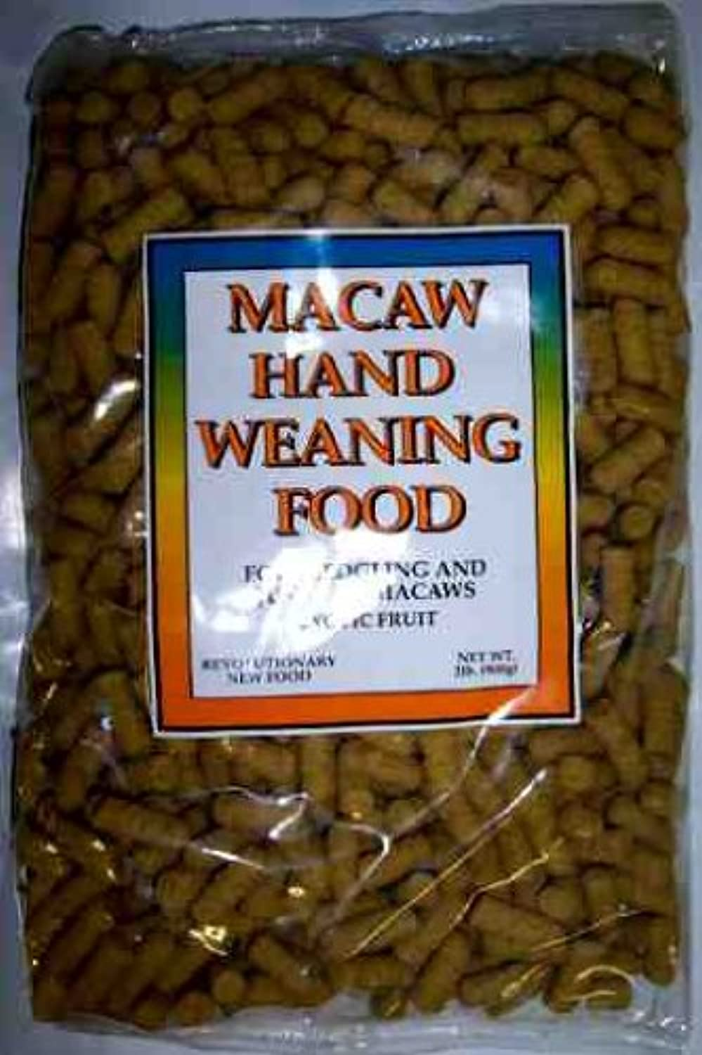 Scenic Hand Weaning Parred Food Pellets Macaw 2 lb nrbppe7629-New
