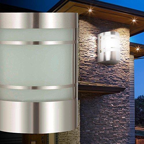 Wandleuchte Wandlampe Außenbeleuchtung Terrasse Lampe Licht modern Garten BT1010c