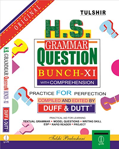 West Bengal HS Grammar Question Bunch (Class - XI) with Comprehension