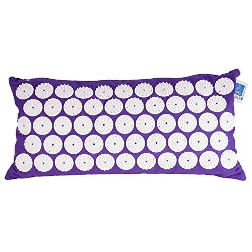 Akupunktur-Kissen Blume des Lebens 44x22 cm   Akupressur-Kissen Lebensblume gegen Nacken- u. Kopfschmerzen   Meditation-Kissen für wirkungsvolle Therapie Zuhause   Esoterik Geschenke kaufen