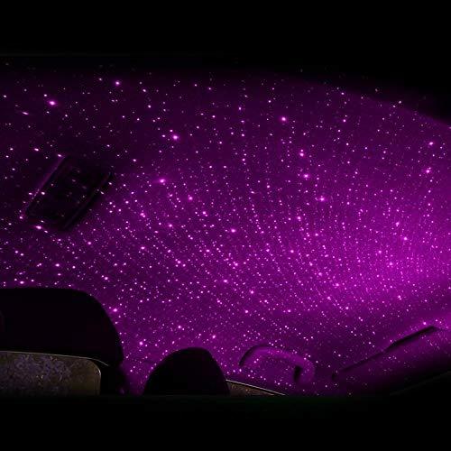 4-in-1 mini-led-autodak ster nachtlampje projector licht interieur omgevingsatmosfeer Galaxy lamp decoratielicht usb plug-paar_China_Us