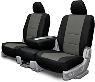 new product 22685 5e210 Custom Seat Covers for Mercedes Sprinter Front Bench Charcoal Insert  Leatherette