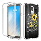 LG Stylo 4 Case,LG Q Stylus Case,AIRWEE Dual Layer Clear