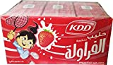 KDD Strawberry Flavored Milk 180ML (18 PACK)