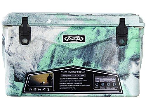アイスランド クーラーボックス 45qt [ シーフォームグリーンカモ / 42.6L ] Deelight iceland cooler box