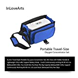 INLOVEARTS Portable O2 Machine Generator, 3L/min Adjustable O2 Outlet 30±3%...