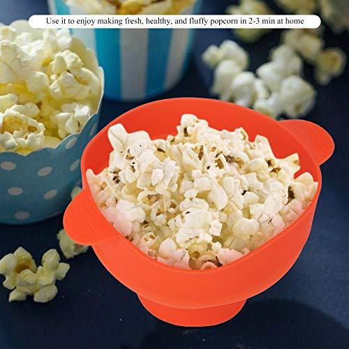 Read About Foldable popcorn bucket, 10.2 x 7.9 x 5.7 inch Microwave Popcorn bucket, microwave