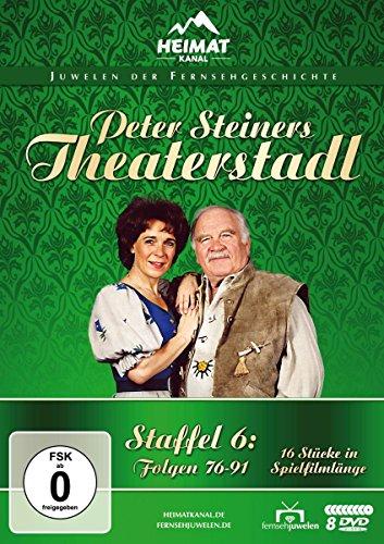 Peter Steiners Theaterstadl - Staffel 6: Folgen 76-91 [8 DVDs]