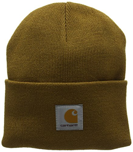 Carhartt - Acrylic - Bonnet - Mixte Adulte - Marron (Hamilton Brown Hz.00) - Taille unique