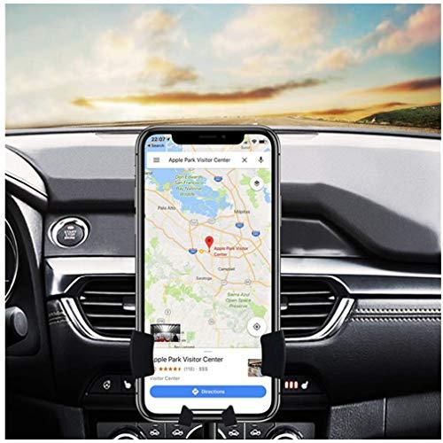 Jeack Handyhalter fürs Auto Handyhalterung Auto Lüftung Universale Handy KFZ Halterungen mit Automatische Erinnerungsfunktion für iPhone XS/X/8/7/6 Plus Samsung Galaxy S10/A20E/A70/S9/S8 (3)